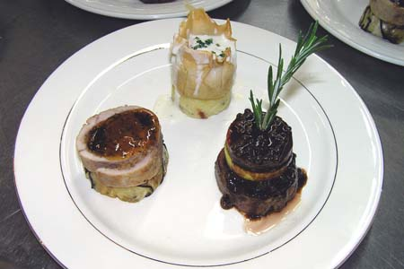 Entree By Chef Philippe Coupe